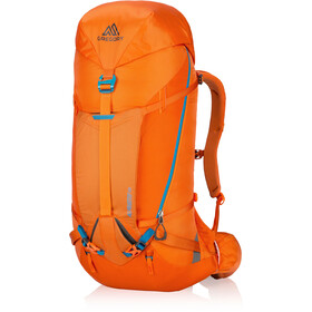 Gregory Alpinisto 50 Selkäreppu Pieni, zest orange
